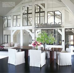meg ryan's house, martha's vineyard. amazing windows, beautiful framework, open and inviting space.  love it, love it, love it!