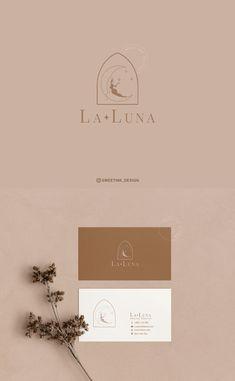 La Luna Premade Logo @sweetink_design #Silhouette #womanSilhouette #logo #logodesign #minimalist #graphicdesign #branding Bakery Branding, Branding Design, Logo Design, Business Logo, Business Cards, Sweet Logo, Simple Logos, Boutique Logo, Photo Logo