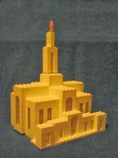 Build Mt Timpanogos Temple out of LEGOS!!! Step by Step Instructions. #LDS Fun FHE activity!