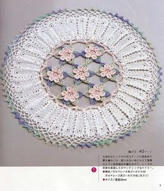 Receitas de Crochet: Encanto
