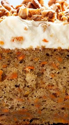 Easy Carrot Cake with Cream Cheese Frosting Delicious and easy recipe. Sugar Cookies Recipe, Cookie Recipes, Dessert Recipes, Cupcake Recipes, Cream Cheese Recipes, Cake With Cream Cheese, Edamame, Easy Carrot Cake, Carrot Cakes