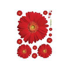 DECOWALL DWL-1903 Aquarelle Fleurs De Cerisier Autocollants Muraux Mural Stickers Chambre Enfants B/éb/é Garderie Salon