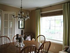 Dining Room Curtains Design Ideas Classic Dining Room Design With