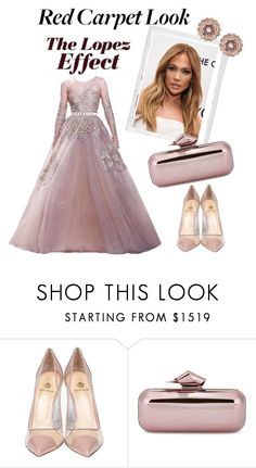 """""""Red Carpet at the Oscars"""" by lolaaab ❤ liked on Polyvore featuring Elie Saab, Polaroid, Jennifer Lopez, Semilla, Jimmy Choo and Ted Baker"""