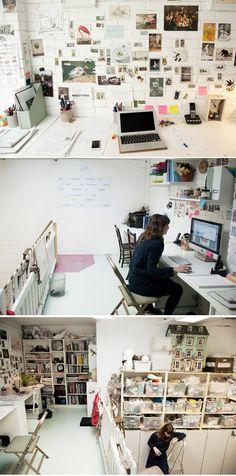 Rhea Thierstein - Set Designer, Studio, North London http://www.freundevonfreunden.com/workplaces/rhea-thierstein/