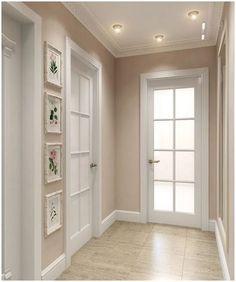 Modelos de Portas: +100 Exemplos para Inspirar seu 2020 Home Room Design, Dream Home Design, Home Interior Design, Living Room Designs, Interior Paint, Kitchen Interior, Home Living Room, Living Room Decor, Bedroom Decor