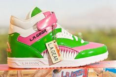 L.A. Gear (i loved mine and the double shoe strings..just pointless)