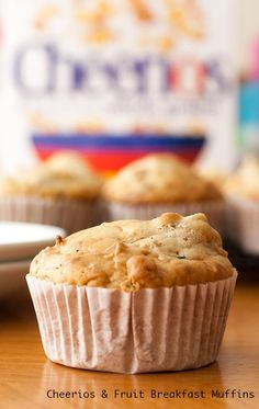 Start the day off right with these DELICIOUS Cheerios & Fruit Breakfast Muffins! Stuck in a breakfast rut? Try these yummy Cheerios & Fruit Breakfast Muffins Related posts: No related posts. Cereal Recipes, Muffin Recipes, Baby Food Recipes, Cooking Recipes, Family Recipes, Yummy Recipes, Free Recipes, Breakfast Muffins, Breakfast For Kids