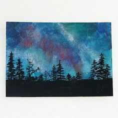 Northern Lights art