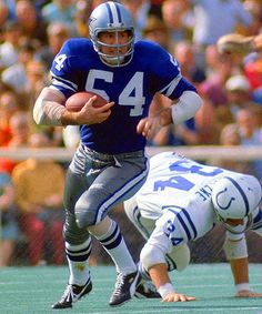 #54 - Chuck Howley, Super Bowl V (1971). The only player to be voted the games MVP despite his Cowboys losing to the former Baltimore Colts, 16-13.