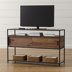 Knox Media Console | Crate and Barrel