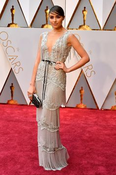 Oscars 2017: All the Fashion Looks From the Red Carpet   Allure Olivia Culpo stepped out in a Marchesa gown.