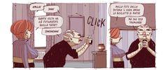 Noccioline - Residenza Arcadia: un fumetto a strati