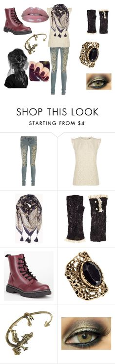 """""""Romantic"""" by claralodesky ❤ liked on Polyvore featuring Yves Saint Laurent, Oasis, Forever 21, Lowie, Soda, H&M and Lancôme"""