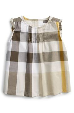9e600704ecc0 Burberry  Neela  Check Cotton Tunic (Baby Girls)