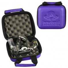 Incredibowl m420 Deluxe Set with Incredibowl Mini Pipe - Purple