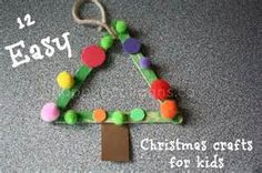 easy christmas crafts for toddlers - Bing Images