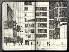 Ian Sidaway Fine Line: Paris