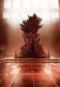GRRM says this throne is the closest to his vision of the Iron Throne.