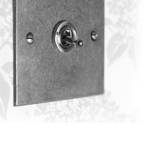 1 Gang Dolly Switch | Brushed Steel | Bevelled Plate | Jim Lawrence  £38.20