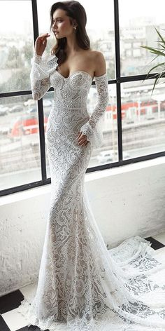 Trendy Wedding Dresses 2018 For Contemporary Bride ❤️ top wedding dresses detached sleeves lace sweetheart julie vino bridal ❤️ Full gallery: https://weddingdressesguide.com/trendy-wedding-dresses/ #bride #wedding #bridalgown