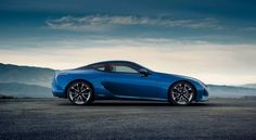 The Structural Blue paint code on the new #Lexus #LC series is just another cool feature from a vehicle with a ton more!