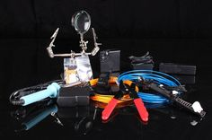 The Electric Optics DIY Masters Kit is the complete start-up package for anyone looking to get into EL Wire. The Masters Kit comes with all the tools you need, lots of EL Wire and accessories, and an exclusive tips and tricks guide.