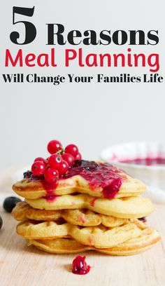 How weekly meal planning will change your families life. Meal planning for beginners. Meal planning for families. Meal plan to save time.