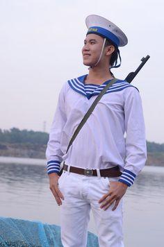 Hoài Giang shop may bán và cho thuê trang phục hải quân, đồ lính rằn ri, đồ bộ đội, nhân viên quét rác, nhân viên điện lực, công an, sĩ quan ... trang phục diễn