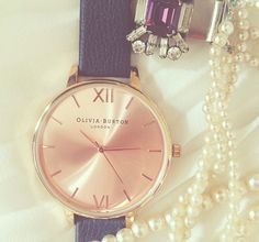 Olivis Burton Rose Gold Watch