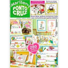 Revista Marileny Ponto Cruz 15 / Magazine Marileny Cross Stitch 15 visit www.marileny.net