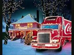 "Coca-Cola® Christmas Song by ""Melanie Thornton - Wonderful Dream (Holidays Are Coming)"" ~ Makes me sad that she was killed in a Plane Crash Nov. 2001 - What a Beautiful Voice! Vintage Coca Cola, Coca Cola Weihnachtstruck, Coca Cola Santa, Coca Cola Christmas, Always Coca Cola, Christmas Truck, Outdoor Christmas, Pepsi, Christmas Lights"