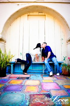 Old Town San Diego Engagement Photo Shoot | One Love Photography
