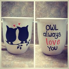 Owl+coffee+mug+by+sarahmarie28+on+Etsy,+$14.00