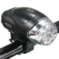 Sale 25% (7.79$) -  Bike Bicycle Head Light Cycling LED Front Headlamp Headlight