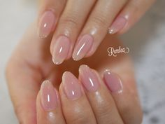 Nail Shapes - My Cool Nail Designs Neutral Nails, Nude Nails, Manicure And Pedicure, Kawaii Nails, Nail Polish, Round Nails, Dream Nails, Bridal Nails, Fabulous Nails