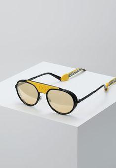bdca603371a4 Dolce amp Gabbana Sunglasses - matte black black orange mirror pink -  Zalando.