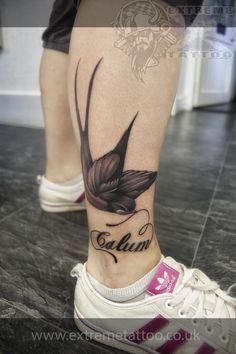 Swallow tattoo,Gabi Tomescu.Extreme tattoo&piercing. Fort…