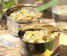Recept: Couscoussalade met gerookte kip | Gezond Eten Magazine