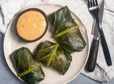 A Healthy Update for Southern-Style Collard Greens Southern Style Collard Greens, Cajun Remoulade, Collard Green Wraps, Rice Wraps, Rice Stuffing, Swiss Chard Recipes, Dirty Rice, Chicken Livers, Wrap Recipes