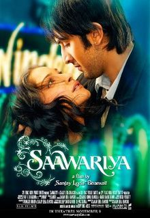"""Saawariya is a 2007 Hindi film produced and directed by Sanjay Leela Bhansali. The film is based on Fyodor Dostoevsky's short story """"White Nights"""". Movie Songs, Movie List, Bollywood Images, Bollywood Songs, Hindi Movies, Sanjay Leela Bhansali, Movie Subtitles, Entertainment, Pickup Lines"""