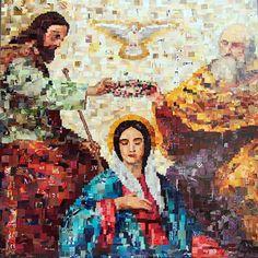 Isaac Zanacci, Coroação de Nossa Senhora on ArtStack #isaac-zanacci #art