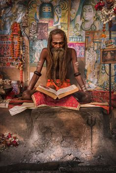 "douglas-macrae: "" Naga Sadhu I encountered in Varanasi last week ©Douglas MacRae """