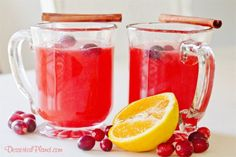 Cranberry Cinnamon Punch