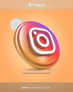 Instagram Mockup, Instagram Apps, Instagram Logo, Logo Design Tutorial, Design Tutorials, Social Media Logos, Social Media Template, Hand Holding Phone, Phone Mockup