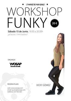 Workshop de Funky con Vicky Gómez  www.wosap.com