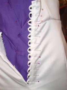 Olympus digital camera uzun gelinlikler, gelinlikler, drapaj, couture, part Corset Back Wedding Dress, Diy Wedding Dress, Diy Dress, Wedding Gowns, Corset Dresses, Making A Wedding Dress, Diy Corset, Lace Corset, Wedding Dress Sewing Patterns