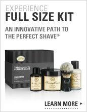 For Him:  The Art of Shaving's Full Size Kit - includes Pure Badger Black Brush -  $115
