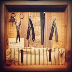 "Some of the tools from my grandfathers barbershop. He passed in 2001, so I built this shadow box to remind me of the memories of his shop and the rich history. He lost hearing in one ear during the invasion of Pearl Harbor came home to run his shop (solo) for 41-years. At one time, he was the oldest sponsor of our local baseball little league. Quite the business man all those years, and found a way to ""give back"" as well. #returnthegood in this world"