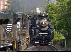 RailPictures.Net Photo: NKP 765 Nickel Plate Road Steam 2-8-4 at Pittsburgh, Pennsylvania by Carl Massart